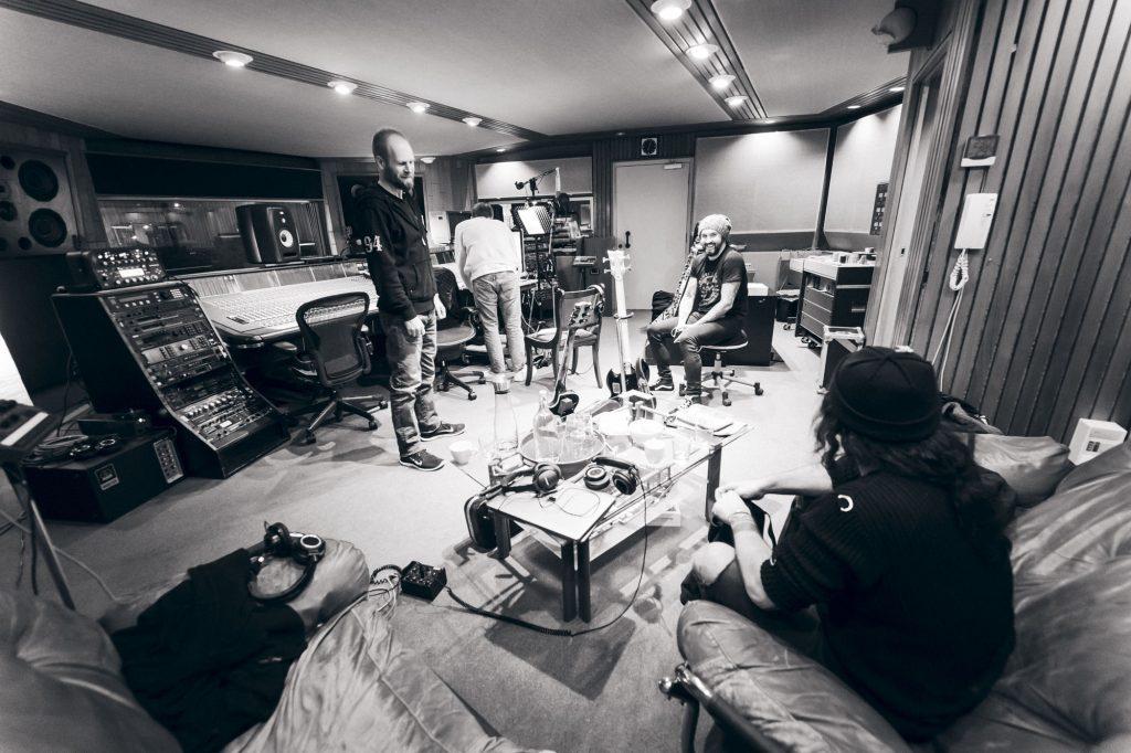 Kreator at Hansa Studios